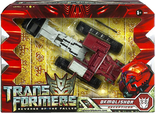 Transformers Revenge of the Fallen Demolishor Voyager Action Figure