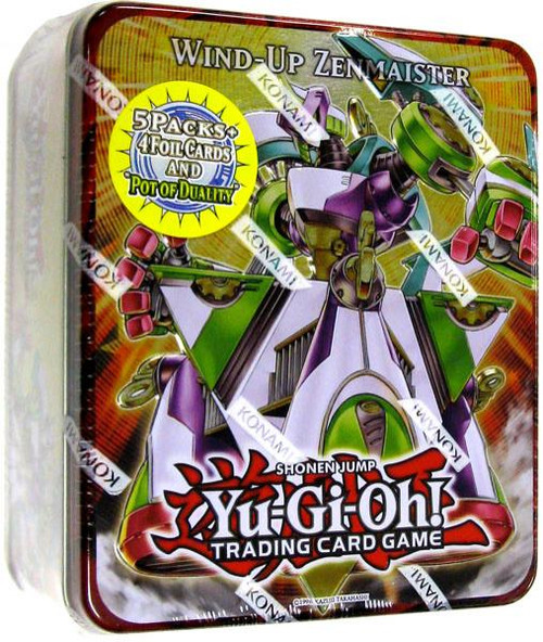 YuGiOh Zexal 2011 Collector Tin Wind-Up Zenmaister Collector Tin [Sealed]