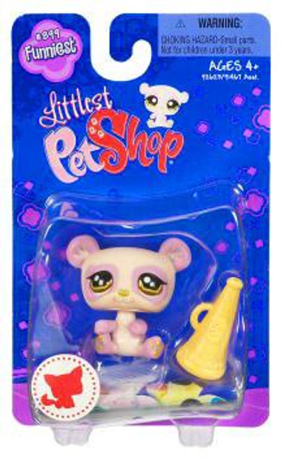 Littlest Pet Shop Panda Figure #899 [Megaphone]