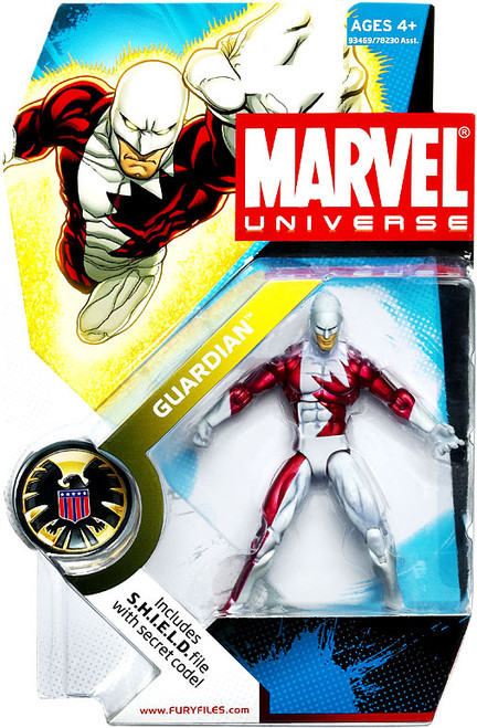 Marvel Universe Series 5 Guardian Action Figure #31