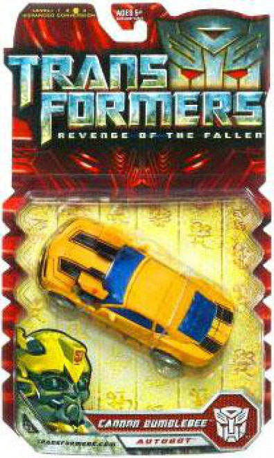 Transformers Revenge of the Fallen Cannon Bumblebee Deluxe Action Figure