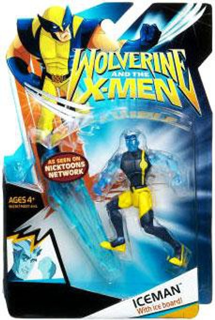 Wolverine and the X-Men Iceman Action Figure [With Clothes]