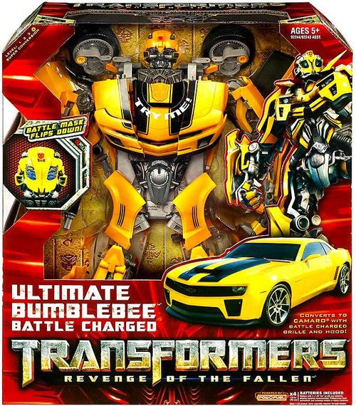 Transformers Revenge of the Fallen ULTIMATE Bumblebee Action Figure [Battle Charged]