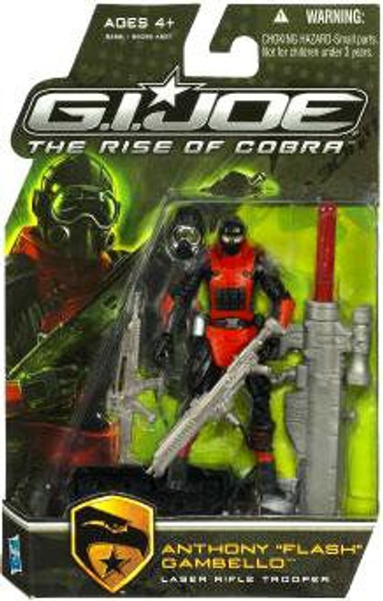 "GI Joe The Rise of Cobra Anthony ""Flash"" Gambello Action Figure"