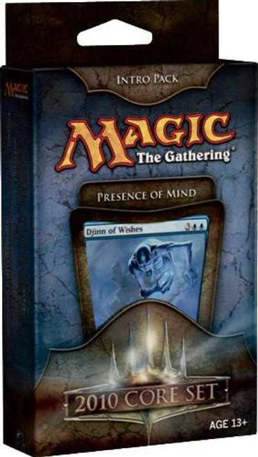 MtG Magic 2010 Presence of Mind Intro Pack [Sealed Deck]