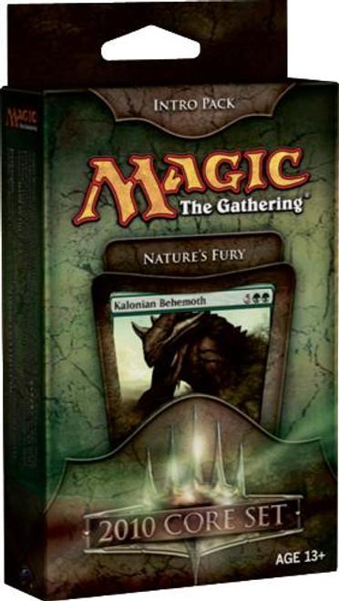 MtG Magic 2010 Nature's Fury Intro Pack [Sealed Deck]