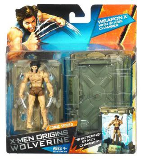 X-Men Origins Wolverine Comic Series Weapon X Action Figure