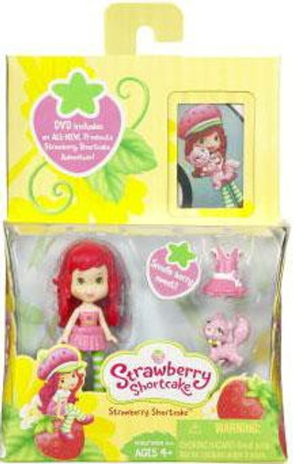 Strawberry Shortcake Mini Doll [With DVD]