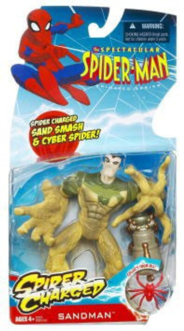 The Spectacular Spider-Man Spider-Charged Sandman Action Figure