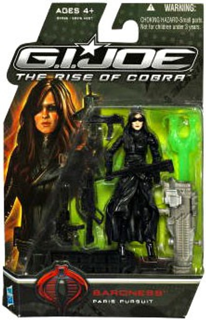 GI Joe The Rise of Cobra Baroness Action Figure [Paris Pursuit]