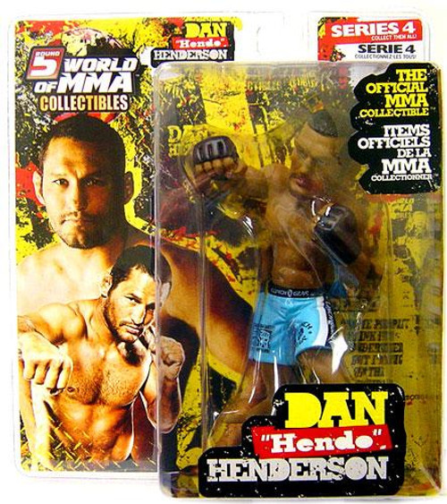 UFC World of MMA Champions Series 4 Dan Henderson Action Figure