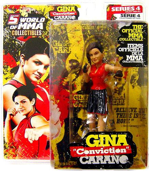 UFC World of MMA Champions Series 4 Gina Carano Action Figure