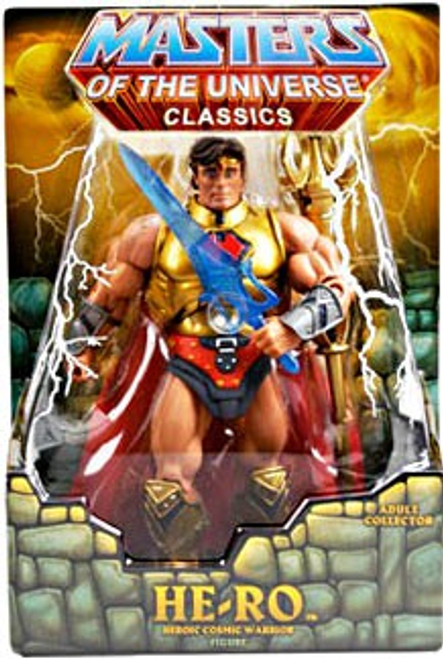 Masters of the Universe Classics Club Eternia He-Ro Exclusive Action Figure [Random Stone]