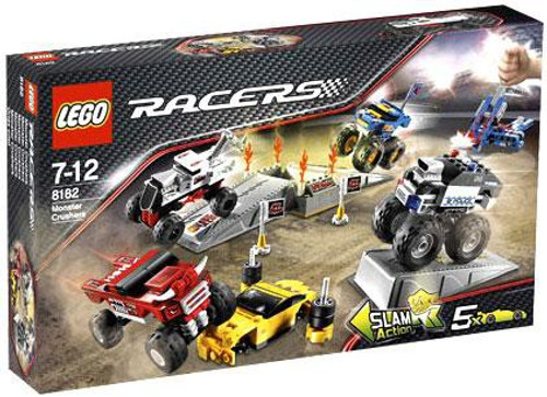 LEGO Racers Fold Out Race Tracks Monster Crushers Set #8182