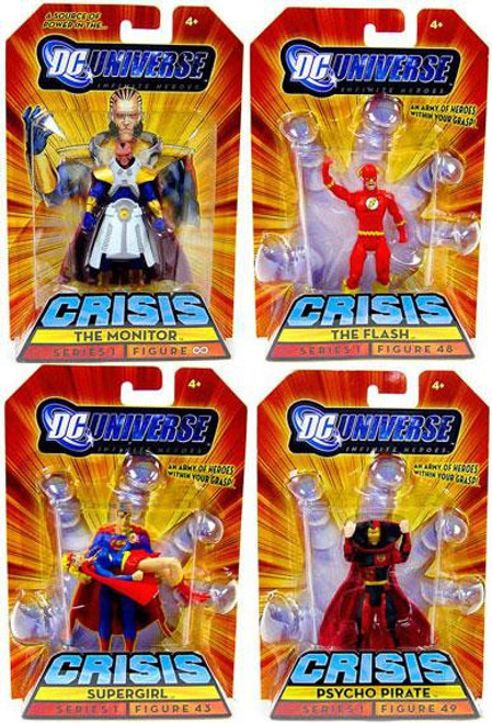 DC Universe Crisis Set of 4 Exclusive Action Figures