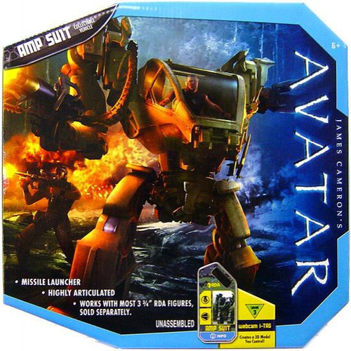 James Cameron's Avatar Combat Vehicle AMP Suit Action Figure Set