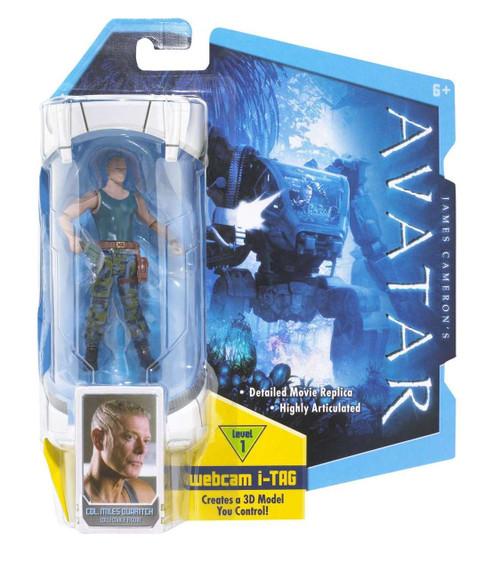 James Cameron's Avatar Colonel Miles Quaritch Action Figure
