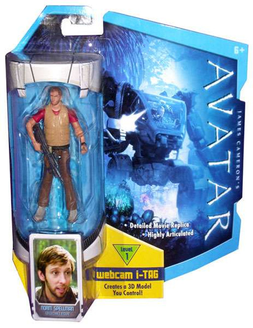 James Cameron's Avatar Norm Spellman Action Figure