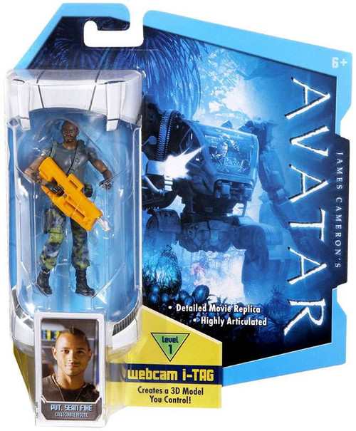 James Cameron's Avatar Private Sean Fike Action Figure [No Face Mask]