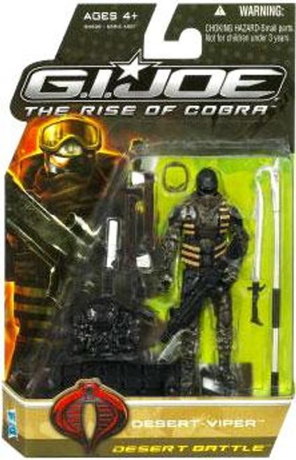 GI Joe The Rise of Cobra Desert Viper Action Figure