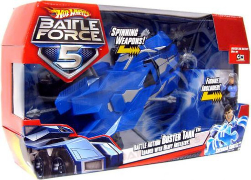Hot Wheels Battle Force 5 Battle Action Buster Tank Vehicle