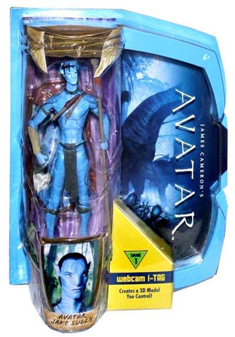 James Cameron's Avatar Deluxe Avatar Jake Sully Action Figure