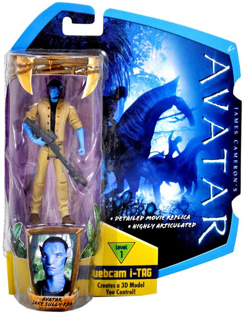 James Cameron's Avatar Avatar Jake Sully Action Figure [RDA Uniform]