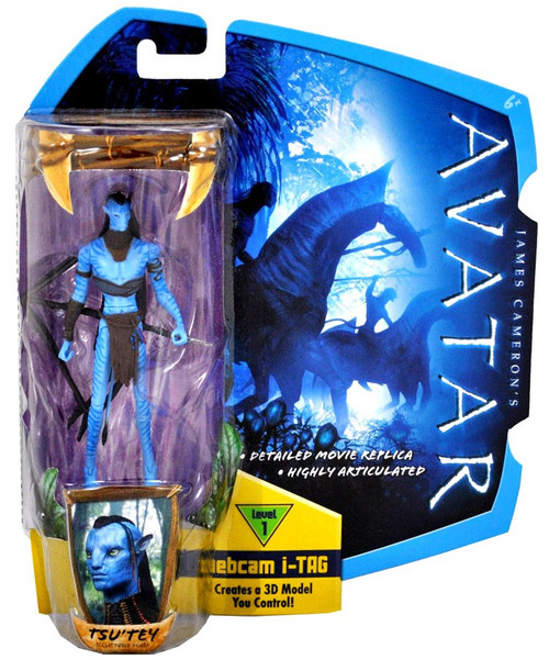 James Cameron's Avatar Tsu'Tey Action Figure [No War Paint]