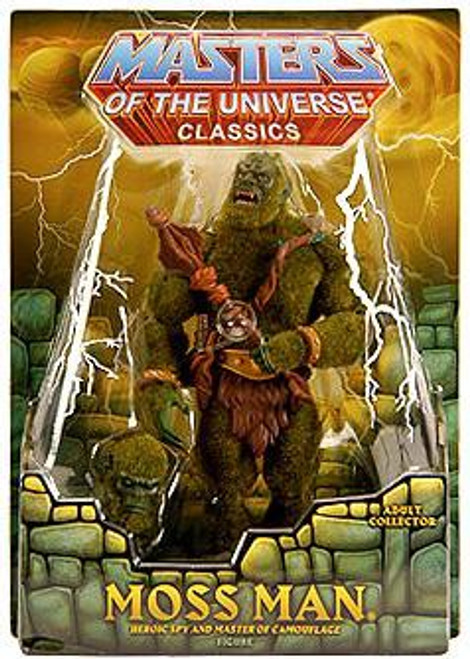 Masters of the Universe Classics Club Eternia Moss Man Exclusive Action Figure [Unflocked Ears]