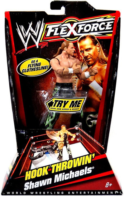 WWE Wrestling FlexForce Series 1 Shawn Michaels Action Figure