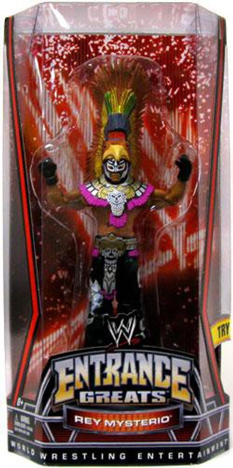 WWE Wrestling Entrance Greats Rey Mysterio Action Figure