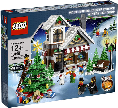 LEGO Christmas Winter Village Winter Toy Shop Exclusive Set #10199