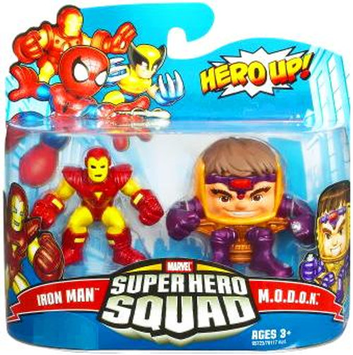 Marvel Super Hero Squad Series 16 Iron Man & M.O.D.O.K. Action Figure 2-Pack