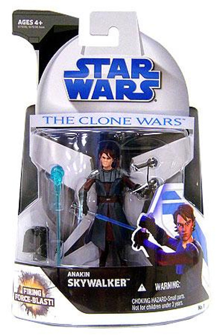 Star Wars The Clone Wars Clone Wars 2008 Anakin Skywalker Action Figure #1