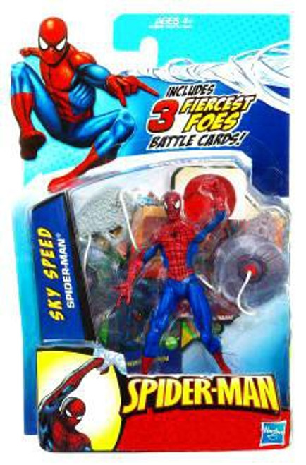 Spider-Man 2010 Sky Speed Spider-Man Action Figure