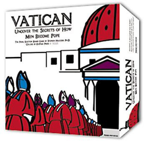 Vatican: Unlock the Secrets of How Men Became Pope Board Game