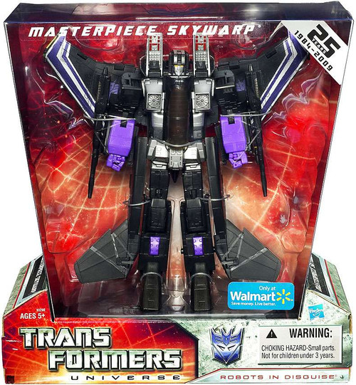 Transformers Universe 25th Anniversary Masterpiece Skywarp Exclusive Deluxe Action Figure