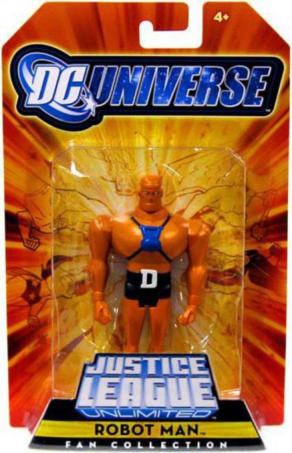 DC Universe Justice League Unlimited Fan Collection Robot Man Exclusive Action Figure
