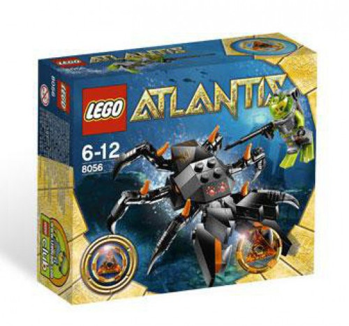 LEGO Atlantis Monster Crab Clash Set #8056