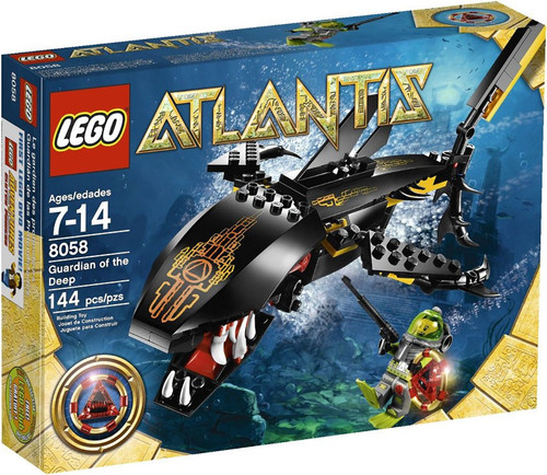 LEGO Atlantis Guardian of the Deep Set #8058