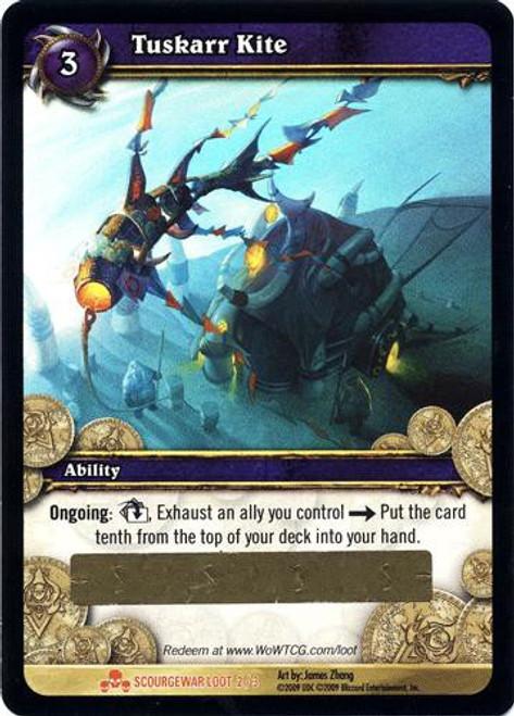 World of Warcraft Trading Card Game Scourgewar Legendary Loot Tuskarr Kite #2