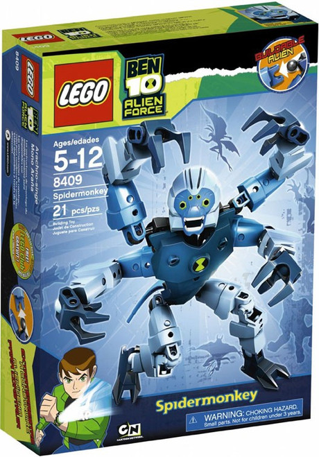 LEGO Ben 10 Alien Force Spidermonkey Set #8409