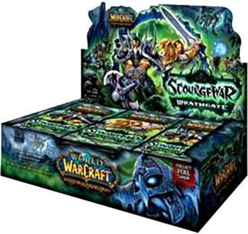 World of Warcraft Trading Card Game Scourgewar: Wrathgate Booster Box [24 Packs]