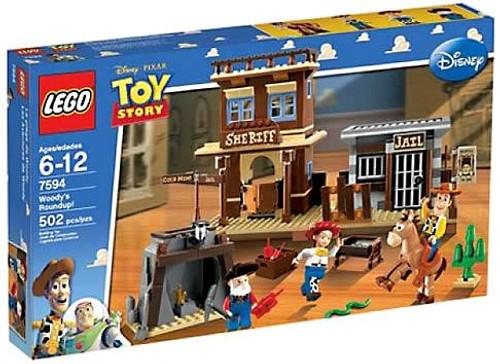 LEGO Toy Story Woody's Roundup Set #7594