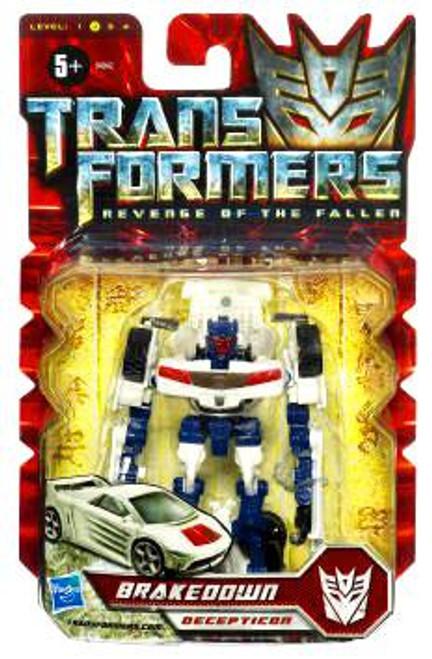 Transformers Revenge of the Fallen Brakedown Scout Action Figure
