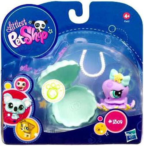 Littlest Pet Shop 2010 Assortment A Series 1 Octopus Figure #1309 [Clamshell]