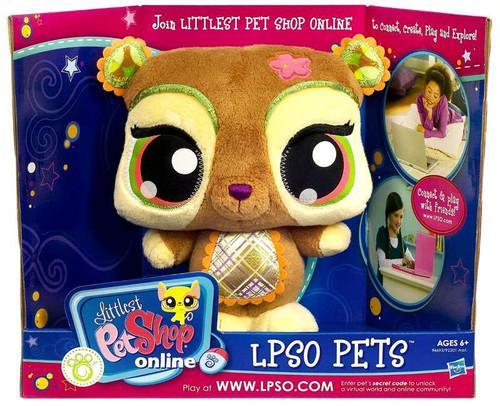 Littlest Pet Shop Online LPSO Pets Bear Plush