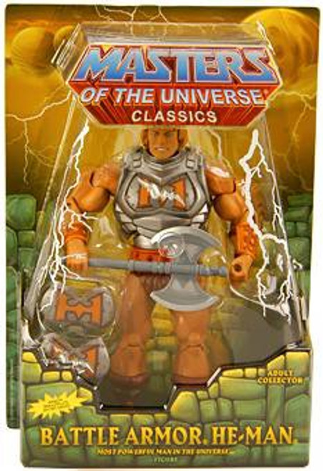 Masters of the Universe Classics Club Eternia He-Man Exclusive Action Figure [Battle Armor]