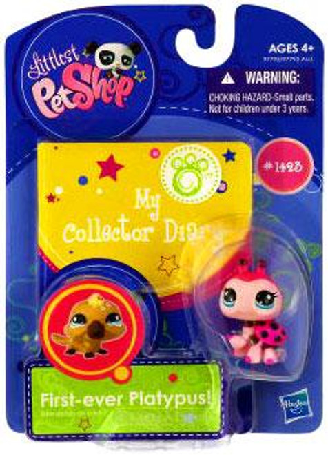 Littlest Pet Shop My Collector Diary Ladybug Figure #1423