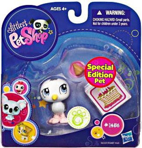 Littlest Pet Shop 2010 Assortment A Series 3 Seagull Figure #1456 [Desserts]